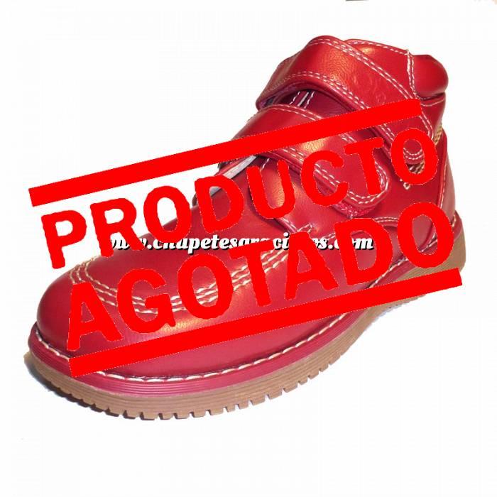 Imagen Rojo BTIN Botín niño en piel Rojo Talla 34