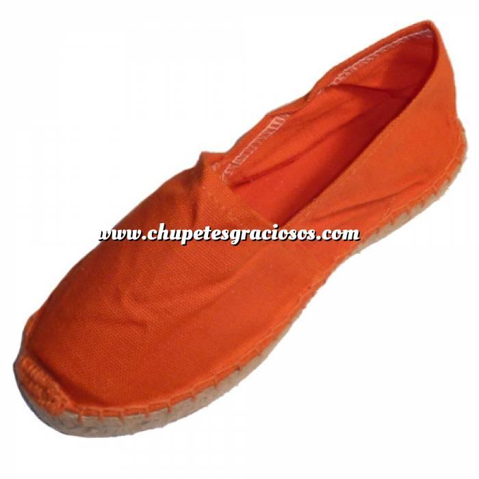 Imagen Naranja CLFR Alpargata Clásica Niño Forrada e Hilo al Tono Naranja Talla 35